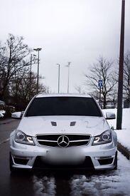 2013 Mercedes Benz c63 *remapped 535bhp*