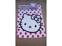 Hello Kitty blanket and cushion