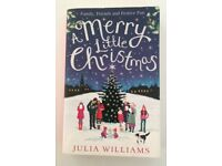 A MERRY LITTLE CHRISTMAS Julia Williams book about village of Hope and her cookbook