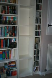 White Bookcase with four Shelves