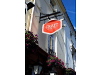 Brilliant Bar Staff needed at The Craft Beer Co. Brighton