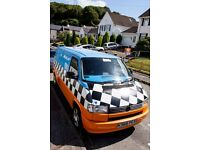 VW T4 Camper Van for sale, full conversion, LWB, 12 months MOT, very mechanically sound