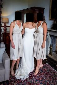 Two Birds bridesmaid dresses x 3