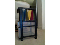 Filing / drawers / storage on castors / wheels