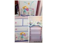 Fairy 3d bedroom furniture drawers, cabinets and bookcase