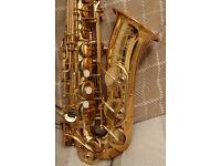 Yamaha YAS62 alto saxophone in near mint condition