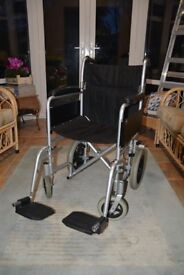 Lightweight Folding Wheelchair For Sale