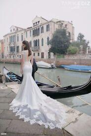 Designer Wedding Dress by Tarik Ediz - never been worn, still in the bag with tags.