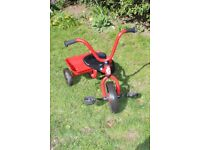 Winther classic children's trike with tray