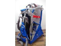 Osprey Poco Plus Child Carrier Backpack with Raincover, Sunshade - Excellent Condition
