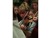 Violin, viola, piano and music theory lessons WITH FREE TASTER - enthusiastic and dedicated teacher