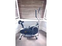Cross trainer home exercise/gym equipment