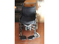 Motorised Wheelchair with Roma Twin Wheel Power Pack with Reverse