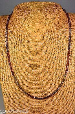 Zirkon Kette Collier 47,42 ct. Natur Schmuck Edelstein Heilstein Halskette Neu