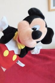 Mattel 1993 Disney Mickey Mouse Hand / Glove Puppet, Excellent Condition, Histon