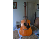 Tanglewood Jumbo Guitar
