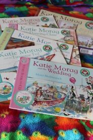 Katie Morag Collection (5 Books & CDs) in a bag
