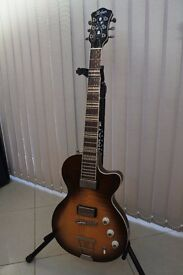 Hofner HCT Club Solid Electric Guitar In Tobacco Sunburst (Similar To A Les Paul)