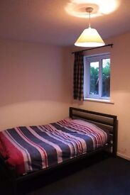 Great double bedroom in a flat with large kitchen!