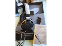 Sennheiser HD 650 open back Headphones - Titanium (mint condition)