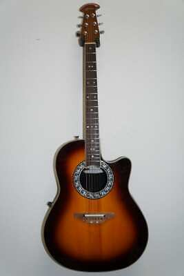 Ovation 1771VL-1 Standard Balladeer Acoustic Electric Guitar with Classic Lyr...