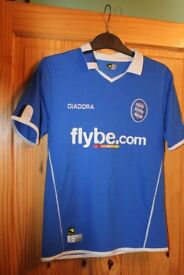 REDUCED TO ONLY £1 BIRMINGHAM CITY FOOTBALL SHIRT JUNIOR 9-11