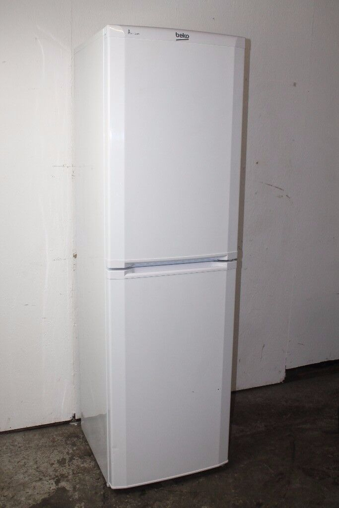 Beko Fridge Freezer 182cm Height Excellent Condition 6 Month Warranty Delivery Available
