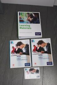 ACCA F5 KAPLAN PERFORMANCE MANAGEMENT COMPLETE SET