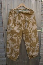 British Army Issue Goretex Trousers - Desert Pattern (medium Height) 96cm waist