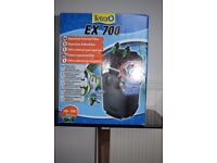 Tetra Ex 700 External Filter - Brand New, Boxed and Never Used.