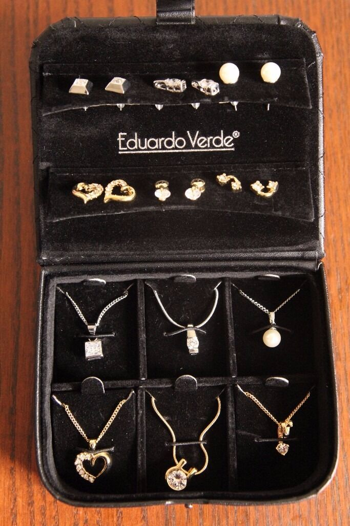 New Eduardo Verde 6x Necklace Pendant Amp Earring