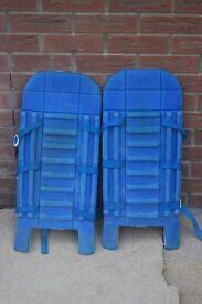 Ladies field hockey goalkeeper pads