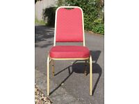 marquee/conference stacking chairs in excellent condition