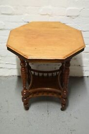 Edwardian occasional table (DELIVERY AVAILABLE)