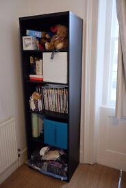 Shelving unit, BESTA IKEA, large, black-brown