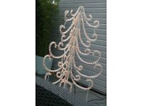 Outdoor Lit Christmas Tree