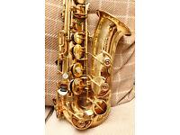 Selmer Mark VI alto saxophone, 1972