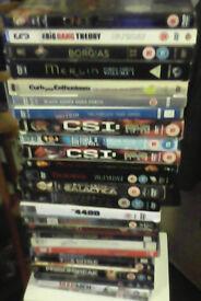 Over 20 dvd boxsets bulk sale
