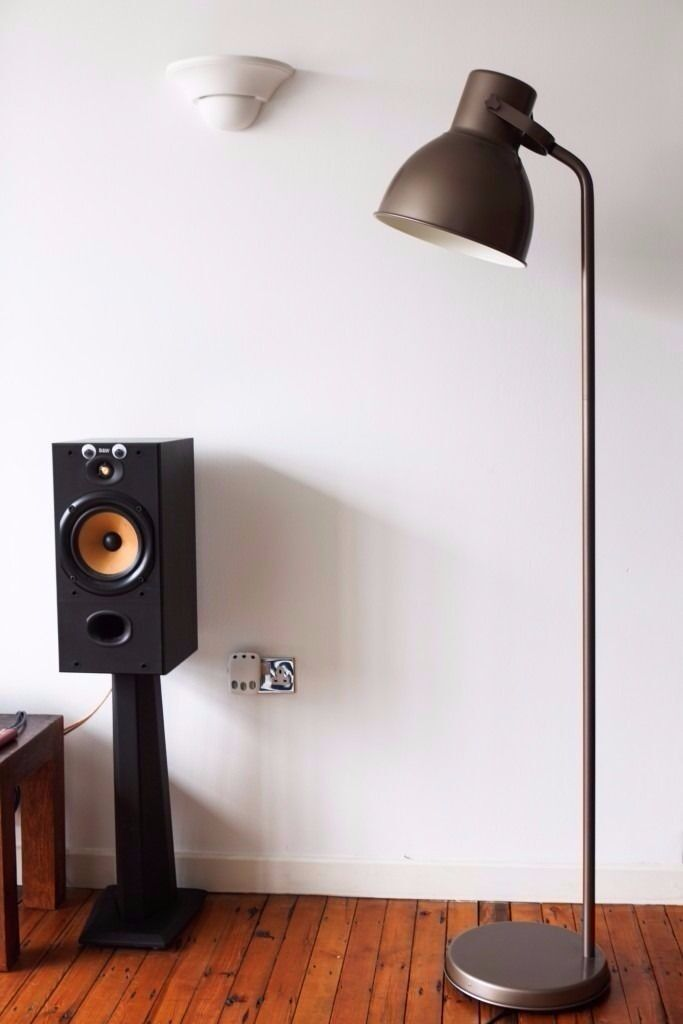 Ikea Hektar Floor Lamp Bronze Colour In Hackney London