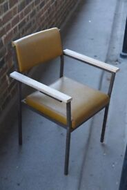 Chairs - set of three vintage minimal chairs