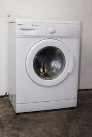 Beko 5kg 1000 Spin Washing Machine Good Condition 6 Month Warranty Delivery and Install Available