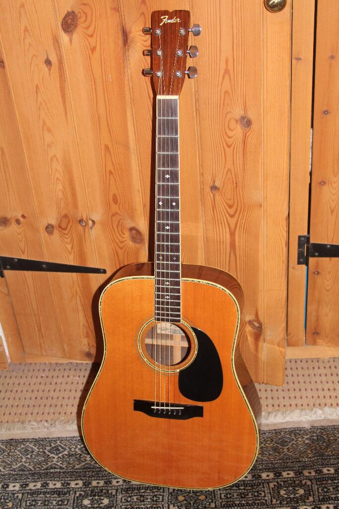 Fender Acoustic Guitar F65 Vintage 1970s Japan