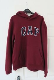 Gap Hoodie, Burgundy, Size Medium – worn a couple of times only