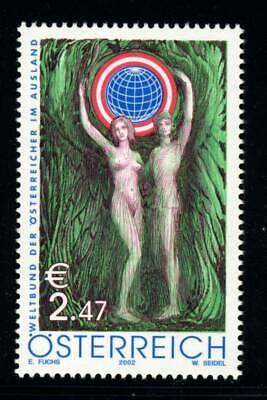 AUSTRIA . 2002 Austrians Living Abroad (1899) . Mint Never Hinged