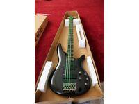 Bass guitar.Ibanez SR305 5 string gloss black
