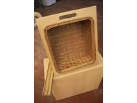 Assortment of Wicker Baskets with runners (New)