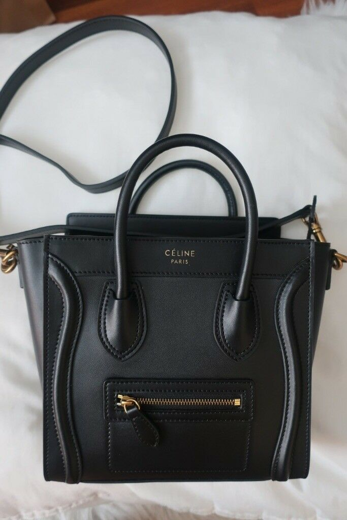 6523d07963 Celine Nano Tote bag black - USED but looks new