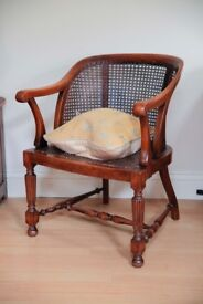19th Century Caned Arm Chair