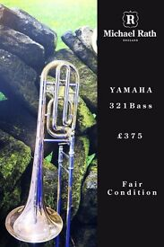 Yamaha 321 Bass Trombone