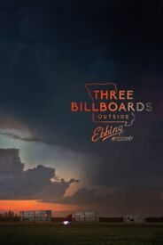 Large Double Sided Film Banner- Three Billboards Outside Ebbing Missourie